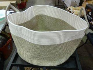 Mintwood Design large Rope Basket