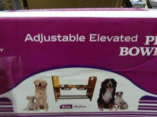 Adjustable Elevated Pet Bowls