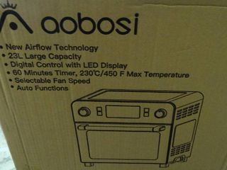 Aobosi 10 in 1 Multi Function Toaster Oven