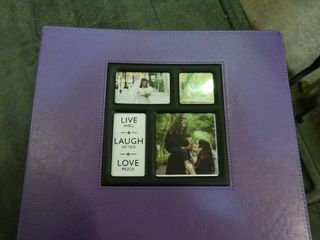 Purple Photo Album with Collage on Front