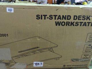 Sit Stand Desktop Workstation