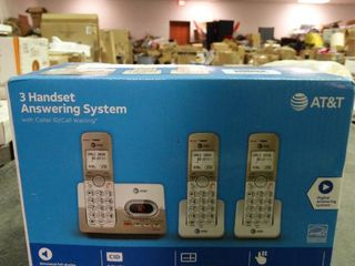 3 Handset Answering System