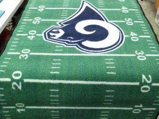 Rams Football Rug