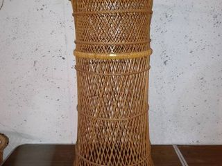 Nice Rattan Plant Stand For large Plants In Good Condition