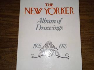 Beautifully Illustrated Book Of Drawings From The New Yorker