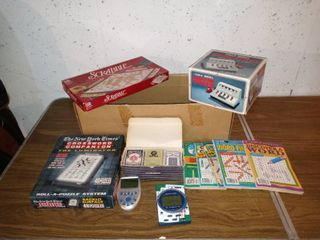 Nice little lot Of Various Games Cards Etc