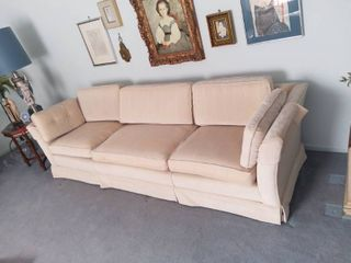 Extra long Vintage Couch