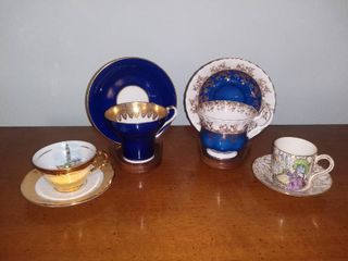 4 Cup and Saucer Sets
