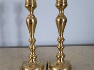 Set of Brass Candle Sticks