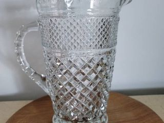 Crystal Water Pitcher