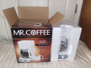 New in Box Mr  Coffee 12 Cup Coffee Pot