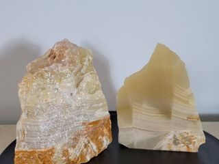 Set of Geode Bookends