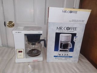 Mr  Coffee 12 Cup Accel Coffeemaker