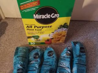 5 Miracle Gro All Purpose Plant Food Garden Feeder Refills