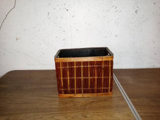 Nice Small Woven Basket In Good Condition