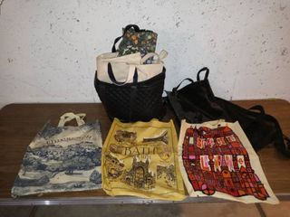 Nice lot Of Assorted Bags For Groceries Or Miscellaneous