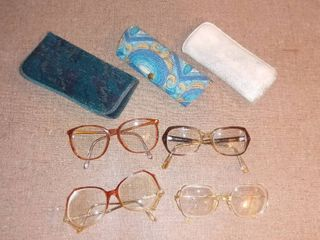 4 Pairs of Awesome Vintage Glasses