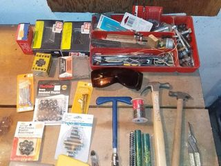 lot of Hand Tools and Hardware