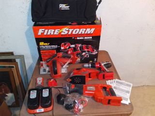 Black and Decker Fire Storm 18V 6 Tool Cordless Combo Kit Batteries Not Charging