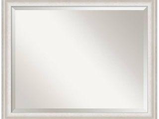 Trio White Wash Silver Bathroom Vanity Wall Mirror  Retail 142 99