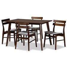Eleri Mid Century Modern Transitional 4 Piece Dining Chair Set  Retail 344 99