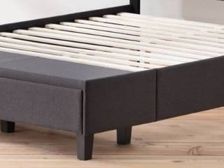 Brookside Anna Upholstered Storage Bed with Drawers   Retail 581 49