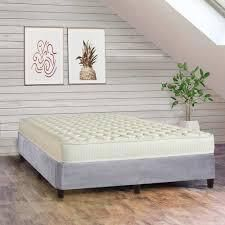 7 Inch Medium Firm High Density Poly Foam And 13  Platform Bed For Mattress Comes With legs To Eliminate Need For Bed Frame  Retail 495 77