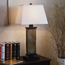 Copper Grove Papineau 29 inch Natural Slate Table lamp  Retail 112 99
