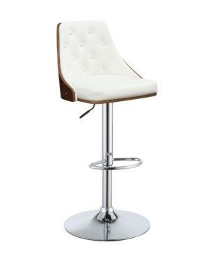 Acme Furniture Cacelia Adjustable Stool with Swivel  Retail 114 99