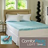 Comforpedic loft from Beautyrest 4 inch Flat Gel Memory Foam Mattress Topper only Retail 203 99 california king