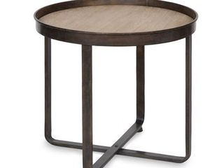 Kate and laurel Zabel Round End Table  Retail 129 99