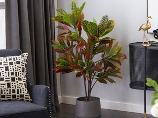 Artificial Plants In Pots For Home Decor Indoor 46  Green   25X27X53  Retail 109 99