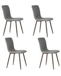 Carson Carrington Viken Fabric Dining Chair  Set of 4  Retail 217 99 grey