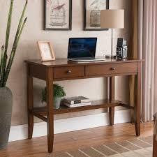 Copper Grove Matthiola Sutton Writing Desk with Charging Station in Espresso  Retail 279 99