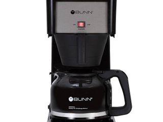 BUNN Velocity Brew 10 Cup Coffee Brewer   Black GR B