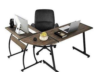 GreenForest Clivia Walnut JB Computer Desk
