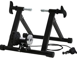 Balance from Bike Trainer Stand Steel Bicycle Exercise Magnetic Stand With Front