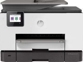 RETAIl AT  329 89 HP   OfficeJet Pro 9025 Wireless All In One Instant Ink Ready Inkjet Printer   Gray