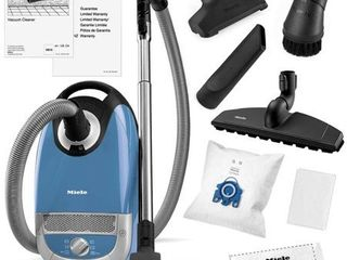 Miele Complete C2 Hard Floor Canister Vacuum Cleaner  Tech Blue
