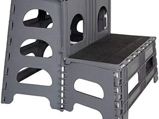 Folding portable Dog Steps For large Medium And Small Doggies   Indoor Outdoo