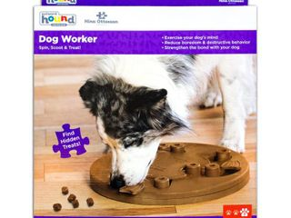Outward Hound Nina Ottosson Dog Worker Puzzle Game large Brown 15  x 14  x 2 5