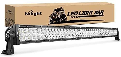 lED light Bar Nilight 42Inch 240W Spot Flood Combo lED Driving lamp Off Road lights lED Work light for Trucks Boat Jeep lamp 2 Years Warranty