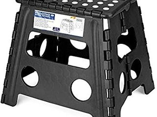 Acko Folding Step Stool   13 inch Height Premium Heavy Duty Foldable Stool for Adults  Kitchen Garden Bathroom Stepping Stool  1 Pack