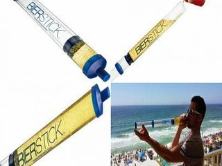 Bierstick Beer Bong Syringe   College Gift Party Tool   Perfect For Bachelor