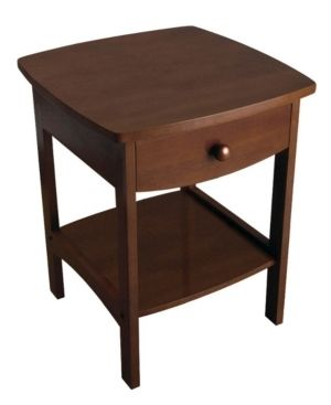 End Table Walnut   Winsome