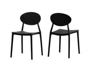 Westlake Outdoor Plastic Chairs  Set of 2