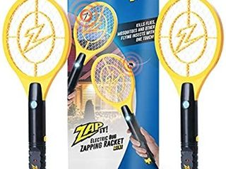 ZAP IT  Bug Zapper Rechargeable Mosquito  Fly Killer and Bug Zapper Racket missing battery Cover