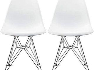 Eiffel Side Chair  White