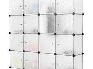 langria 16 Cube DIY Modular Closet