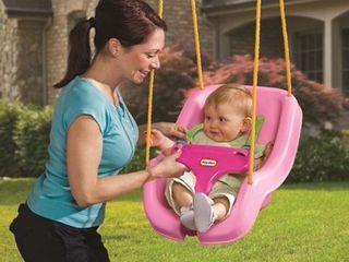 little Tikes 2 in 1 Snug  n Secure Swing  Pink